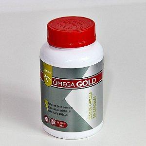 Ômega Gold Linhaça Pura - 60 cápsulas