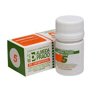 Complexo Homeopático Gelsemium Almeida Prado nº 5 - 60 comprimidos