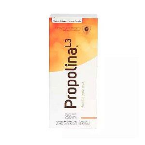 Propolina L3 - Extrato de Própolis Diluído em Água 250 ml - Breyer