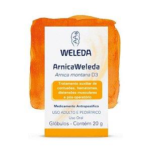 Arnica Weleda - glóbulos 20g