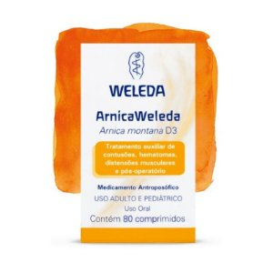 Arnica Weleda - 80 Comprimidos