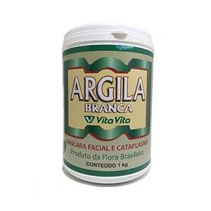 Argila Branca 1kg - Vita Vita