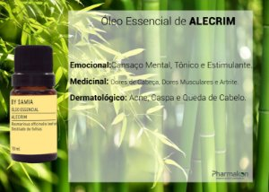 Óleo Essencial de Alecrim 10ml - By Samia