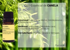 Óleo Essencial de Canela 10ml - By Samia