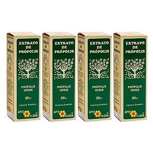 Kit com 4 - Extrato de Própolis Verde 30 ml - Apis Flora