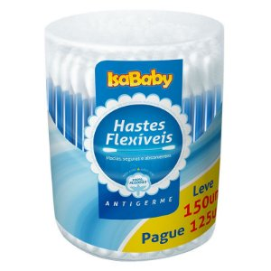Haste Flexível IsaBaby Pote Leve 150 Pague 125 Unidades