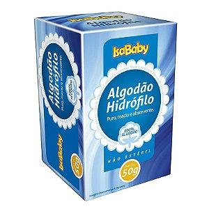Algodão Hidrófilo IsaBaby 50g