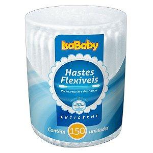 Haste Flexível IsaBaby Pote 150 Unidades
