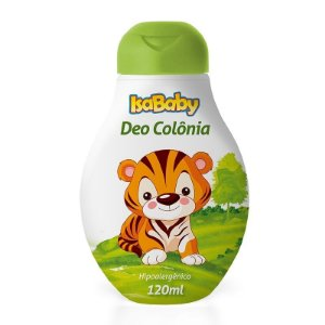 Deo Colônia IsaBaby Zoo 120ml