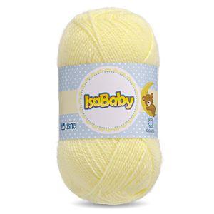 Lã IsaBaby Cisne 40g Amarela