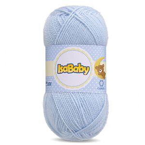 Lã IsaBaby Cisne 40g Azul