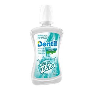 Enxaguante Bucal Dentil Multiação Zero Álcool 500ml