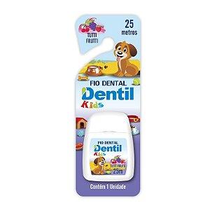 Fio Dental Dentil Kids Roxo 25 metros