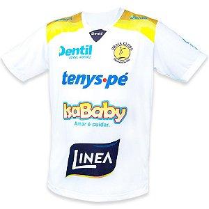 Camiseta Dentil/Praia Clube Temporada 2018/2019 Branca - com mangas