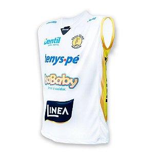 Camiseta Dentil/Praia Clube Temporada 2018/2019 Branca - sem mangas