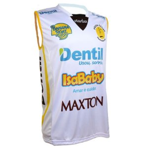 Camiseta Dentil/Praia Clube 2019/2020 – Branca – Sem Mangas