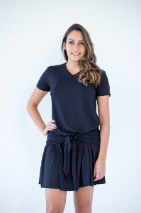 Vestido Nó - Preto