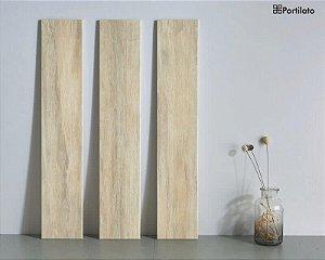 Porcelanato Portilato Acetinado Super Gloss Linha Madeira Carvalho Imperial (15cm x 80cm)