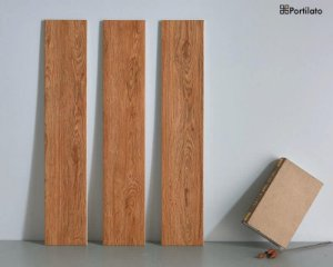 Porcelanato Portilato Acetinado Super Gloss Linha Madeira Pine (15cm x 80cm)