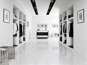Porcelanato Portilato Super Gloss Branco Puro (60×60)