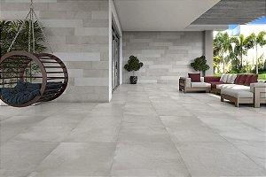 Porcelanato Acetinado Cimento Exclusive Oho Griseo (20×120)