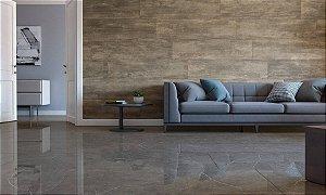 Porcelanato Mármore Polido Exclusive Marmi Nero Lux (62×120)