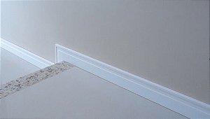 Rodapé de Poliestireno Multiuso 70 x 15 mm – Laqueado e Resistente a Umidade