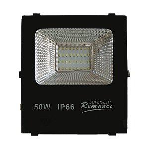 Refletor Led 50W SMD Prova D' Água