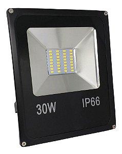 Refletor Led 30W Holofote Microchip SMD