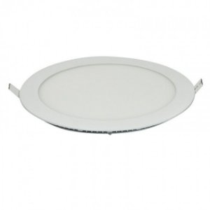 Luminária Plafon Led Embutir 12W redondo branco frio