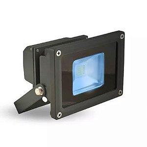 Refletor Led Holofote 10w Bivolt azul Prova D'agua
