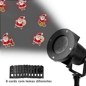 Projetor Led Natal e festas natalinas e Reveillon