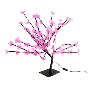 Árvore de Natal cerejeira Led pink rosa 110V