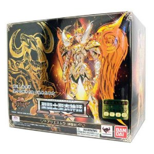 Cavaleiro Zodiaco Mú de Áries Ex Sog V4 Cloth Myth Soul of Gold