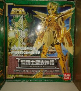 ISAAK KRAKEN CLOTH MYTH BANDAI 1.0 ANIME ( USADO) GENERAL MARINAS