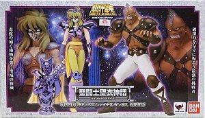 Cavaleiros Zodiacos Shina de Cobra E Cassius Pack Cloth Myth 1.0 Bandai