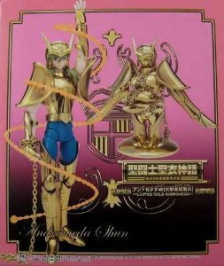 CAVALEIROS ZODIACOS SHUN DE ANDROMEDRA V1 GOLD DOURADO 1.0 CLOTH MYTH BANDAI LACRADO