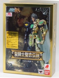 CLOTH MYTH BANDAISAGA GEMEOS LEGEND OF SANCTUARY GEMINI DUAL COLOR  ( NÃO EX )