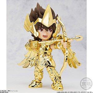 Mini Gold Cavaleiros Zodíacos Aiolos Aioros de Sagitário Cloth Myth