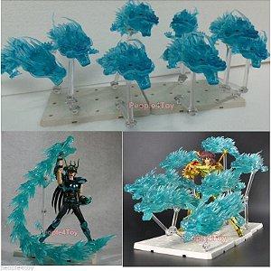 Cavaleiros Zodiacos Effect Shiryu Dragão Cloth Myth 04 Dragões