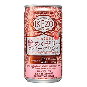 Sake Ozeki Jelly Peach Sparkling 180ml