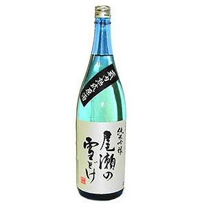 Sake Oze No Yukidoke Kurauchi Jukusei Genshu Junmai Ginjo 1.8L