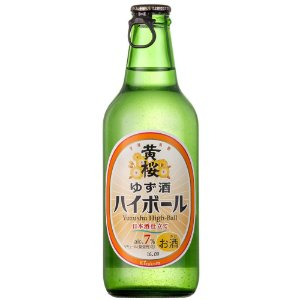 Sake Yuzu High-Ball Kizakura 330ml