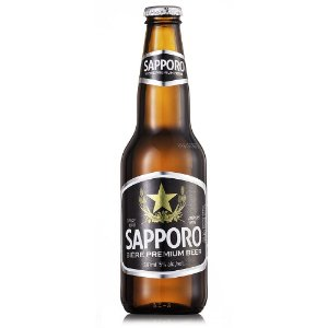 Cerveja Premium Sapporo Long Neck 330 ml