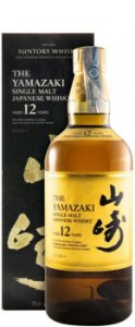 Whisky Suntory The Yamazaki Single Malt 12 anos 700ml