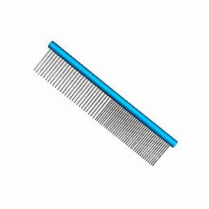 Pente Alumínio Pet 19cm Azul Propetz