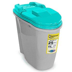 Porta Ração Dispenser Home 25L Plast Pet