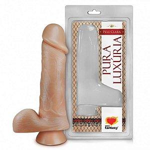 Penis Com Vibro E Escroto 18X4,4 (pv010)