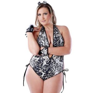 Fantasia Tigresa Plus Size
