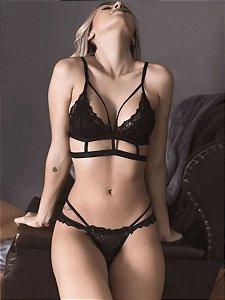 Conjunto Sexy Strappy sem Bojo (JR59)